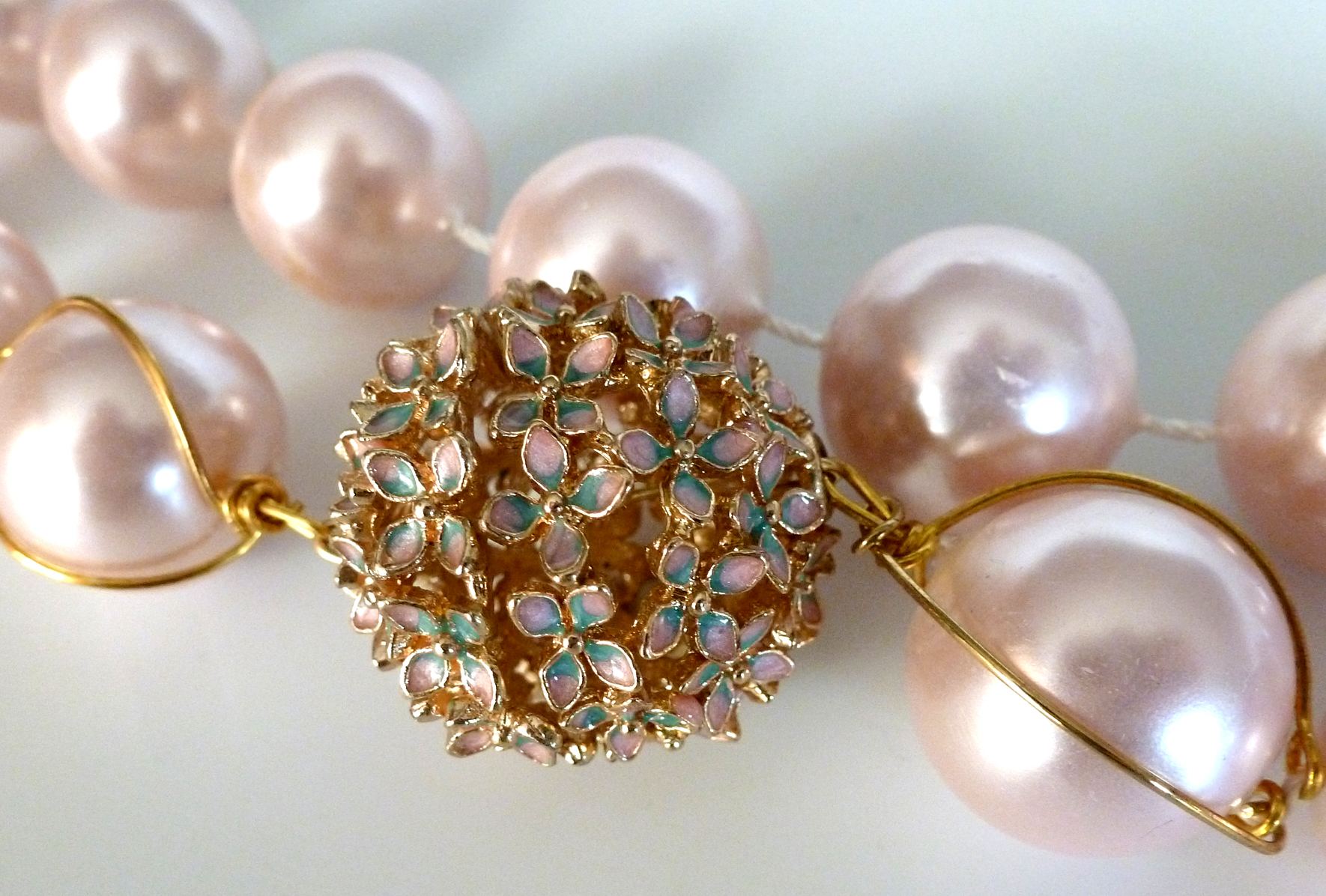 pearls shades boudoir pastel soft ana rosa pin pinterest in my