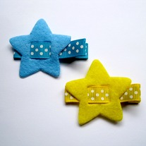 Blue/Yellow Star clips