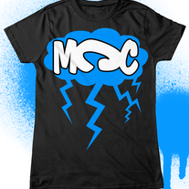MCC Cloud & Lightning Tee