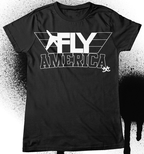 Fly America Collab Tee