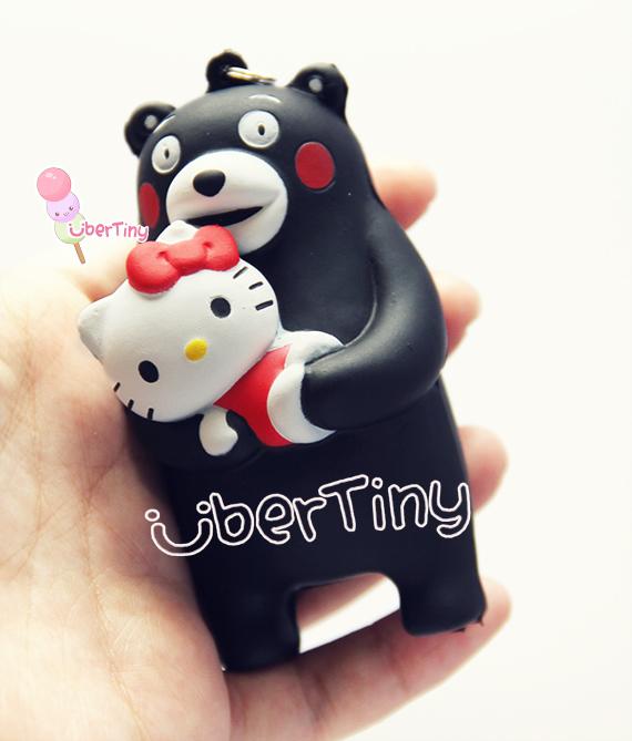 Squishy Sanrio Rare : Rare Limited Hello Kitty Kumamon Bear Squishy (licensed) ? Uber Tiny ? Online Store Powered by ...