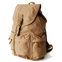 Fantastic canvas laptop daypack backpack - Thumbnail 1