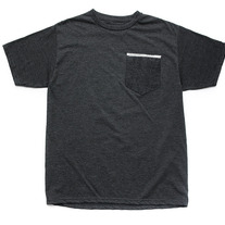 Self Edge Tee / Heather Charcoal