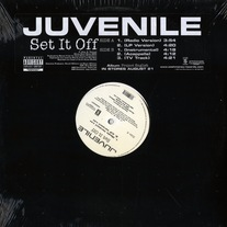 "Juvenile - Set It Off (Single) 12"" Vinyl"