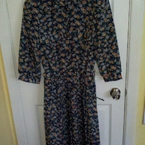 Breli Originals Floral Patterned Dress Sz 10
