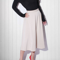 Maxi Swing Skirt - Thumbnail 2