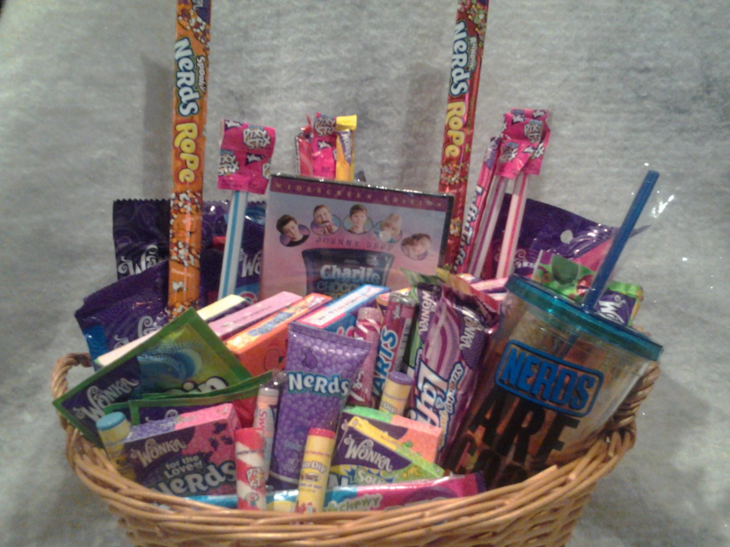 Connie s creations willy wonka candy gift basket