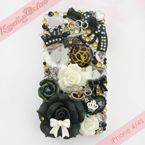Black Gold Guns n Roses iPhone Case