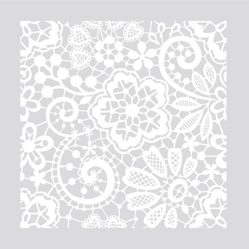Victorian Lace On Your Floor Or Wall Damask Allover