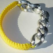 Wristful of Sunshine in Silver Swirl