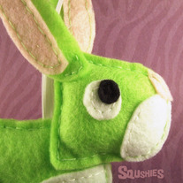 Easter Animal Ornament - Sprout the bunny