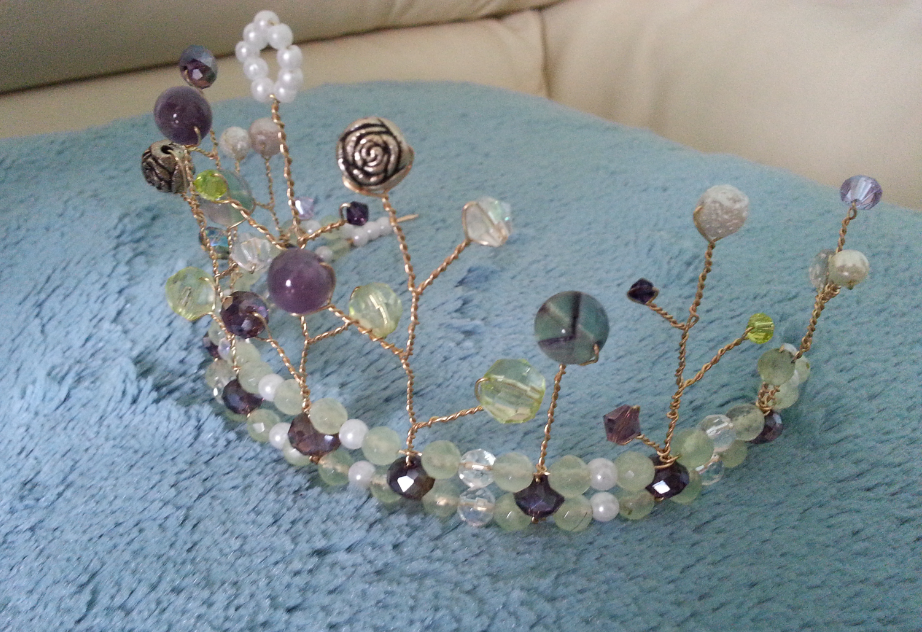 Fairy elf elven fairytale crown Tiara · Anna Strongwolf Designs ...