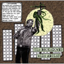 Brokedowns / Wide Angles split 7""