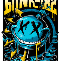 Blink-182 20th Anniversary Poster