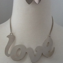 All You Need Is Love Necklace Set