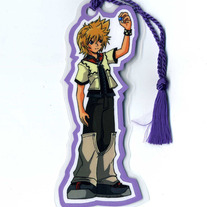 Bookmark - Kingdom Hearts II: Roxas (Fanart)