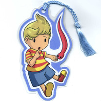Bookmark - Super Smash Bros. BRAWL: Lucas (Fanart)