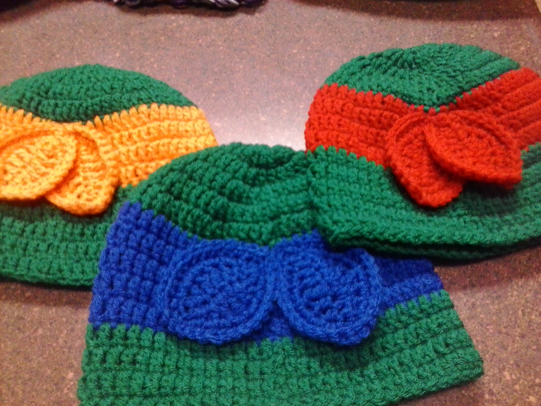 Crochet Pattern For Ninja Turtle Blanket : Ninja Turtle Inspired Crochet Beanie ? Lilpumpkinscrochet ...