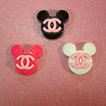 Mickey Mouse Chanel Rings