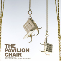 THE PAVILION CHAIR - SILVER THICK CHAIN