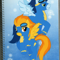 Notebook L - My Little Pony FiM: Wonderbolts (Fanart)