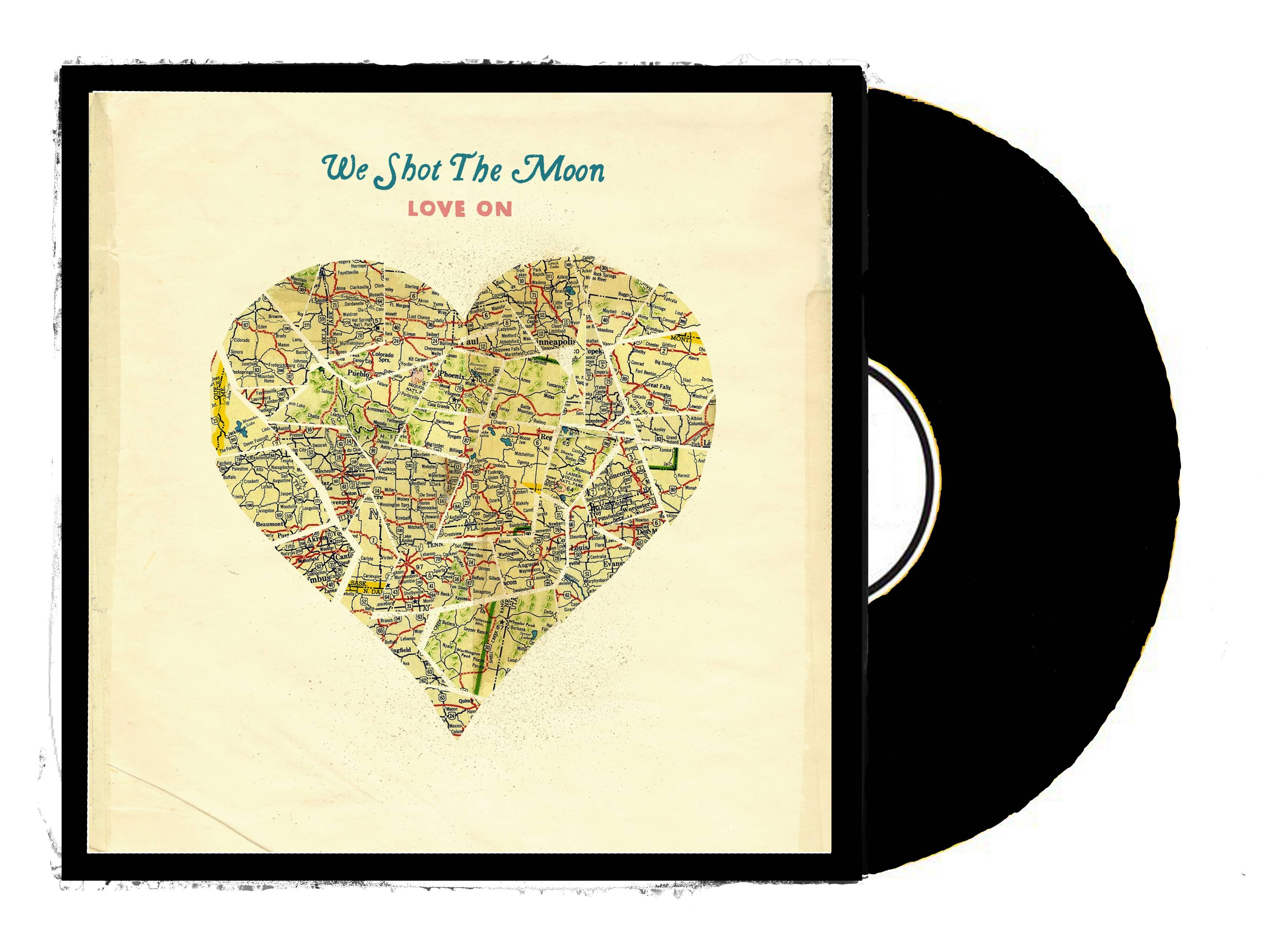 We Shot The Moon Quot Love On Quot Vinyl Black On Storenvy
