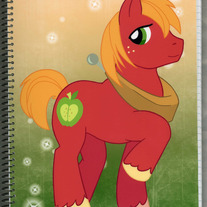 Notebook L - My Little Pony FiM: Big Mac (Fanart)