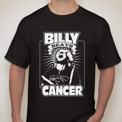 Billy beats cancer fundraising t-shirt