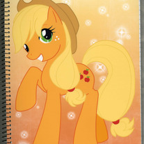 Notebook L - My Little Pony FiM: Applejack (Fanart)
