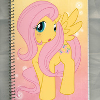 Notebook M - My Little Pony FiM: Fluttershy (Fanart)