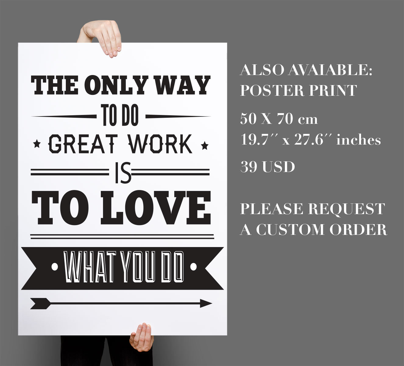 inspirational wall art for office. Inspirational Office Decor. Decor Typography Quote Wall Decoration Art For E