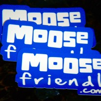 Moose Friendly Stickers!