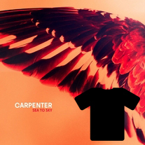 Carpenter: Sea To Sky CD preorder w/Ltd. Edition Gold Stock t-shirt