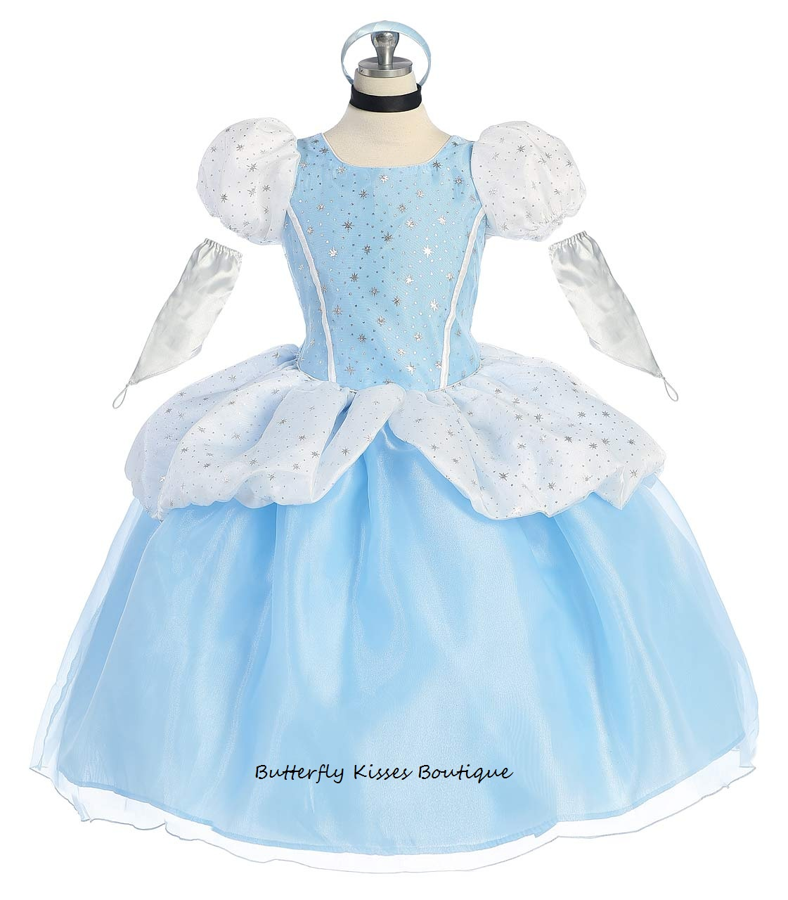 Cinderella Princess Toddler Girls Costume · Butterfly Kisses ...