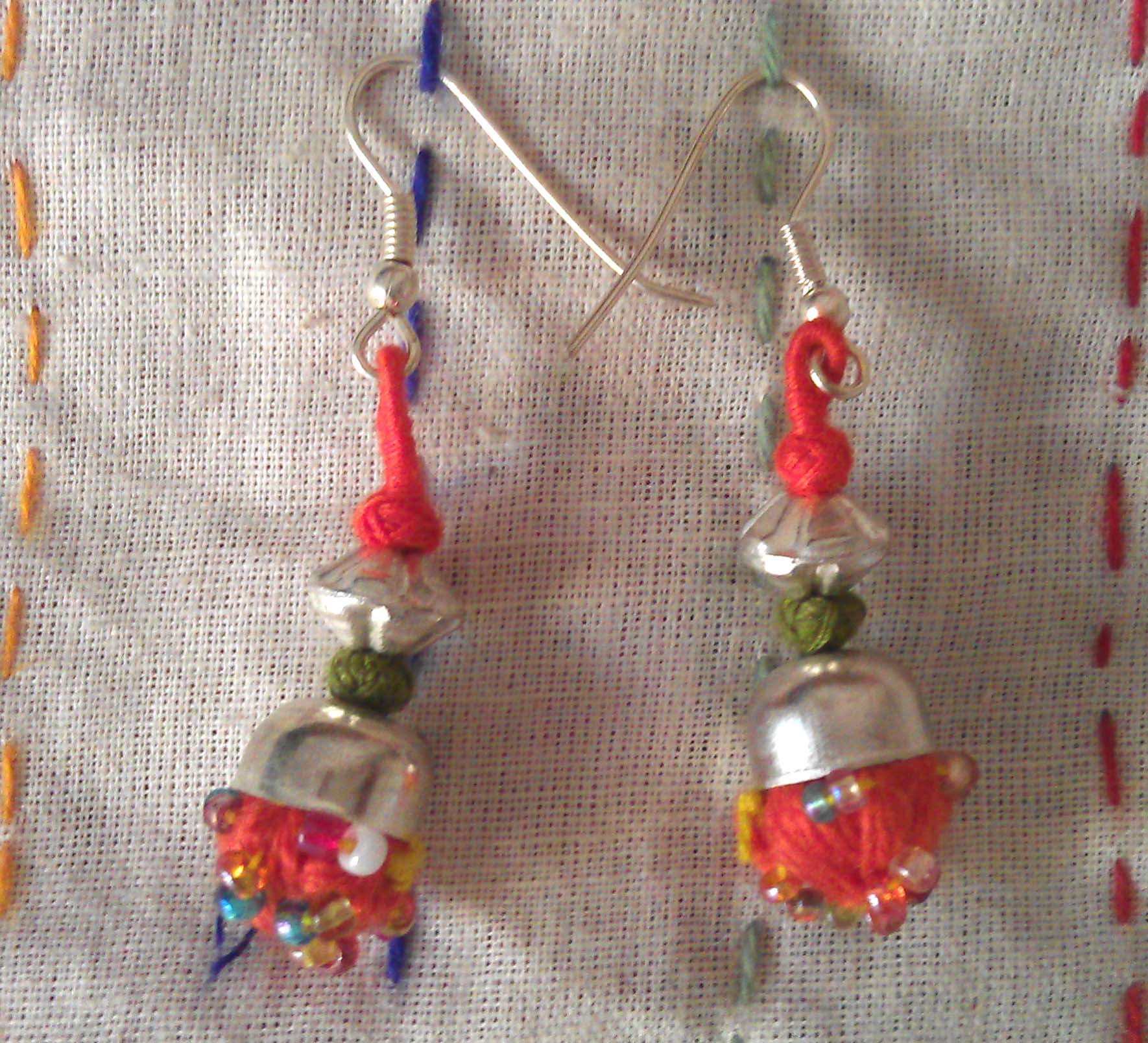 bone haunt the home paper work making earrings