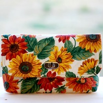 Mini Clutch - Sunflowers - Mother's Day Special - Was $45 Now $36