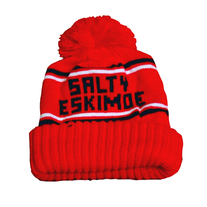 Red Pom Beanie medium photo