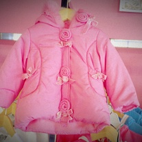Biscotti By Kate Mack Heavy Pink Jacket