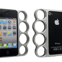 Silver Knucklez Case (iPhone 4 4s)