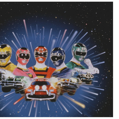 Power rangers turbo with jyb autograph