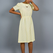 Sallie Yellow Dress