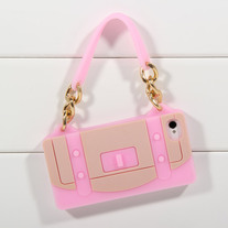 Pink Handbag Case (iPhone 4 4s)