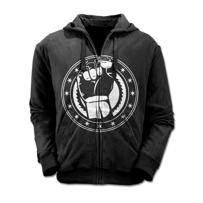 Closeout fist zip-up hoodie (unisex)