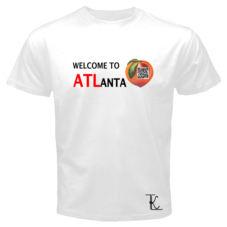 Tkl custom prints and apparel welcome to atlanta qr for Atlanta custom t shirts