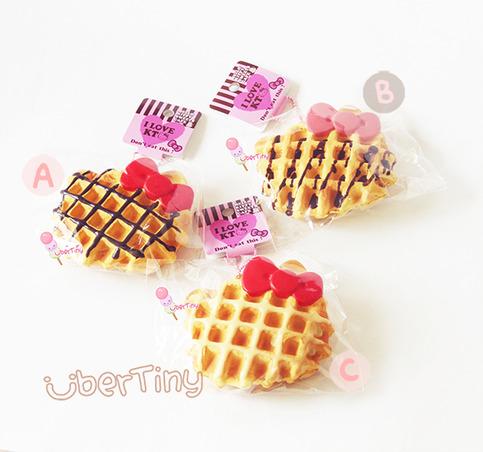 Squishy Licensed Jumbo : Rare* Jumbo Hello Kitty Waffle Squishy (licensed) ? Uber Tiny ? Online Store Powered by Storenvy