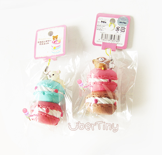 Rare Rilakkuma Stacked Macaron Tower Squishy (Licensed) ? Uber Tiny ? Online Store Powered by ...