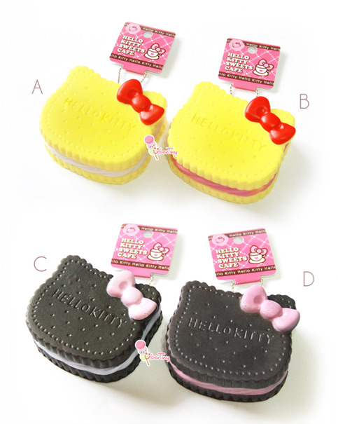 Jumbo Hello Kitty Cream Cookie Squishy (with tag) ? Uber Tiny ? Online Store Powered by Storenvy
