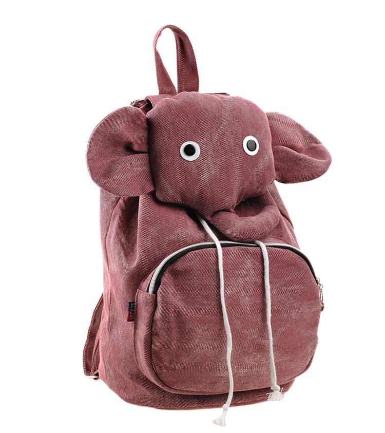 previous ioshop backpack bag canvas school bag elephant backpack