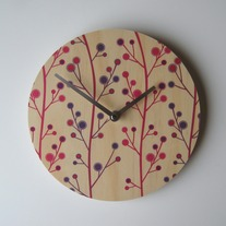 Objectify Stalks Wall Clock