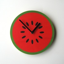 Objectify Watermelon Wall Clock
